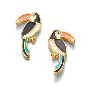 Kate spade Toucan earrings ♠️